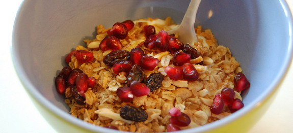 healthy Granola breakfast